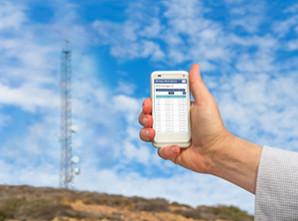 Responsive mobile design UX Fluke Networks
